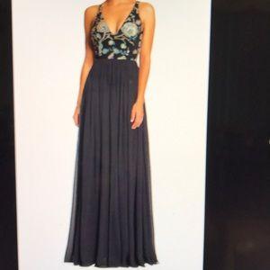 Adriana Sequin Bodice gown